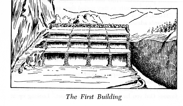 First Building in Lemuria